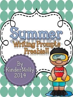 {Summer} Writing Prompts - FREEBIE!