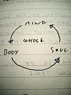 mind body soul / whole