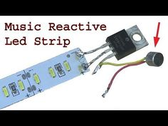 How to make music reactive Led lights strip using mosfet sensitive sound detector. Today i will show you how to make music beats reactive led light . Electronics Mini Projects, Electronics Basics, Electronic Circuit Projects, Electronics Gadgets, Led Projects, Electrical Projects, Arduino Projects, Led Light Projects, Led Diy