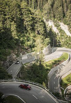 British Classic Car Meeting St. Moritz 2013, Maloja Pass