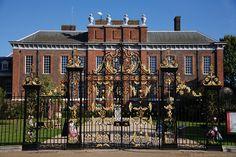 Kensington Palace - originally built in 1605 - Queen Victoria was born here