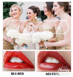 Perfect #Wedding Reds, #colourstay #waterproof #smudgeproof #lipsense #lipstick Facebook.com/franklyfabulouslips