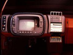 1981 Bertone Mazda MX 81 Aria Concept Interior Instrument Panel