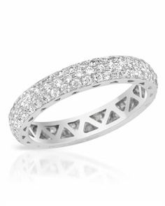 ODELIA Sterling Silver Ring Crystal $79.00 #Odelia