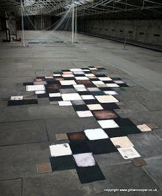 Handkerchiefs by Diana Harrison at Cloth & Memory 2