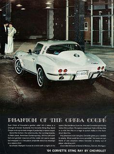 1964 Chevrolet Corvette Sting Ray Sport Coupe Ad.