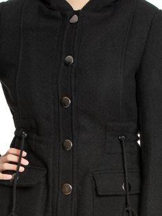 Osito de Peluche Coat - black   napo-shop.de