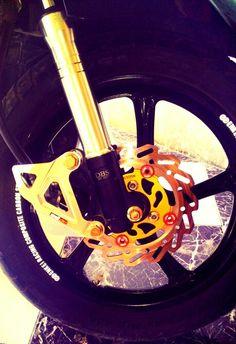 Brake hard for racing eqp... product by DBS igawa...
