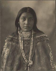 Hattie Tom, Apache by Frank A.Rinehart