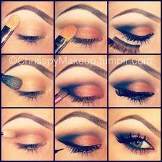 brown eyeshadow for green eyes