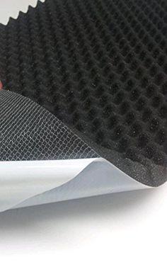 CONCEPT X Deck Pad selbstklebend 100 cm x 50 cm Black