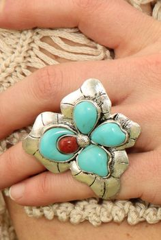 Love this ring- Mountain Lily Ring by Junk Gypsy Co.