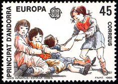 Andorra (Spanish) - Europa / CEPT 1989