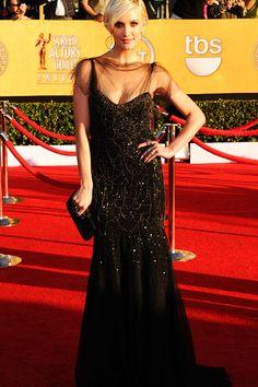 Ashlee Simpson at the SAG awards 2012