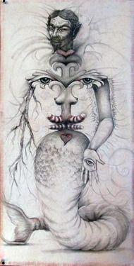 """Saatchi Online Artist Susan Bainbridge; Drawing, """"Exquisite Corpse"""" #art"""