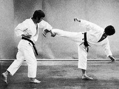 Ushiro geri, gyaku sukui uke, jōdan mawashi zuki Karate, Coat, Sewing Coat, Peacoats, Coats, Jacket