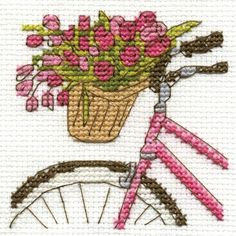 Bicycle w flowers