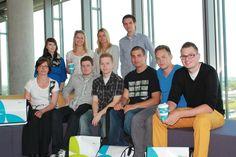 Wie aufregend: Der erste Tag der neuen Azubis bei hmmh 2012. Herzlich willkommen! #hmmh #azubi #job #karriere