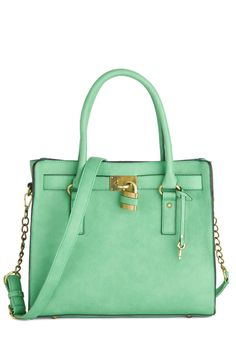 Full Course Load Bag in Jade - 14in, #ModCloth
