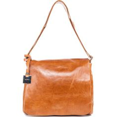 Crossbody & Messenger DELMA - SMALL - COGNAC - N
