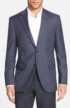 32585ee491a754 Peter Millar 'Flynn' Classic Fit Check Wool Sport Coat Sport Coat, Suit  Jacket