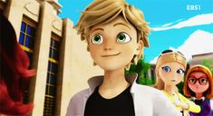 I totally just noticed Chloe in the background... After watching Adrien like 10 times of course.