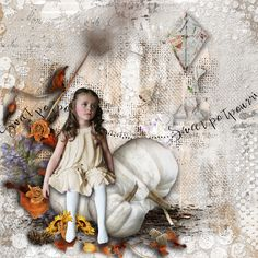 Sweet Potpourri by VanillaM Designs http://scrapfromfrance.fr/shop/index.php… http://wilma4ever.com/index.php… Tube from the club ©InadigitalArt2016