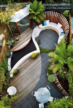 awesome 57 Small Garden Landscape Design on A Budget https://homedecort.com/2017/09/57-small-garden-landscape-design-budget/