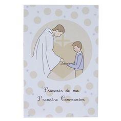 """Image """"Communion"""" garçon (lot de 10) : Tante Menoue"""