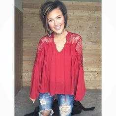 "498 Likes, 10 Comments - Nicole Huntsman (@nicole_huntsman) on Instagram: ""It's Friday, but Sunday is coming! Rockin one of my favorite bell sleeve tops from @forever21 ❣️…"""