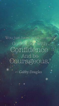 Gymnastics Gabby Douglas quote wallpaper #gymnastics #iphonewallpaper #gymnasticswallpaper