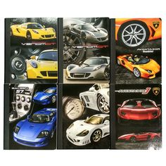 Cars Composition Book