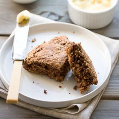 Oatmeal Nutella scones. Because everything with Nutella tastes better!