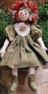 Australia rag doll patterns raggy Rose