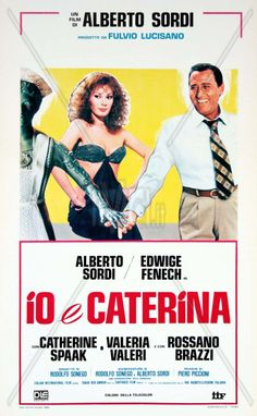 Io e Caterina (1980) Stars: Alberto Sordi, Edwige Fenech, Catherine Spaak, Valeria Valeri, Rossano Brazzi ~  Director: Alberto Sordi