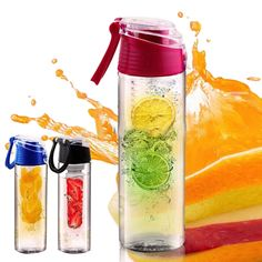 0c1b38d385718b AIHOME Cycling Sport Fruit Infusing Infuser Water Lemon Cup Juice Bicycle  Health Eco-Friendly BPA Detox Bottle Flip Lid Click the image to visit the  ...