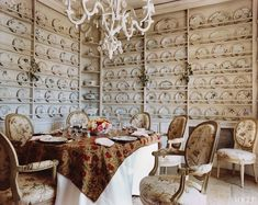 De Botton\'s collection of 18th-century Marseilles faience in the breakfast room.