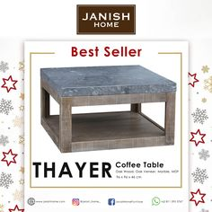 Janish Home is trusted brand for high quality, luxurious furniture & accessories. Dining, bedroom, office and living. Home And Living, Living Room, Marble Art, Furniture Manufacturers, Woodworking Furniture, Luxury Furniture, Coffee Tables, Interior Design, Home Decor