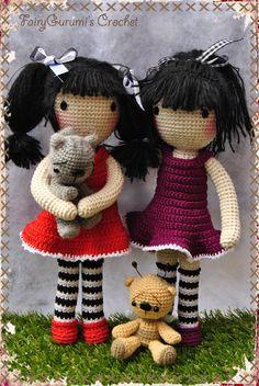 Gorjuss Amigurumi doll - Tuto Madres Hiperactivas - Crocheted by FairyGurumi's  Crochet ❤️