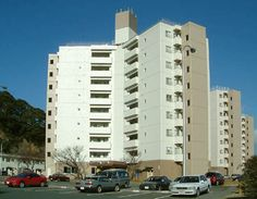 CFA Yokosuka – High Rise: 2 bedroom apartments.