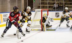 Photo Essay: Pride shut down Riveters in Amanda Kessel's debut = Despite a new, faster and offense-driven roster on the New York Riveters, including U.S. women's national team player Amanda Kessel, the NWHL's Boston Pride still held the edge in the first match-up between the two teams, winning.....
