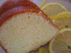Traditional Southern Lemon Pound Cake with a delectable lemon sauce poured all over. Great for any occasion, especially tea.