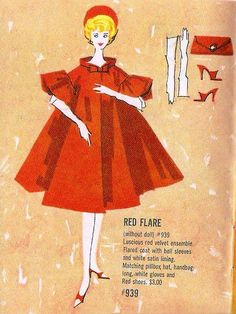Barbie - Red Flare #939