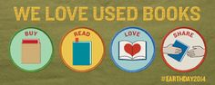 We love used books.