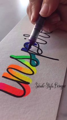 Hand Lettering Art, Hand Lettering Tutorial, Creative Lettering, Calligraphy Tutorial, Bullet Journal Lettering Ideas, Bullet Journal Writing, Bullet Journal Ideas Pages, Calligraphy Lessons, Calligraphy For Beginners