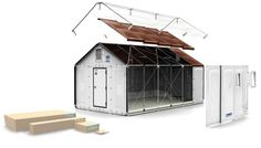 KEA just turned turned its flat pack sensibilities from the urban apartment to the global village by unveiling a comfortable, solar-powered shelter that can provide emergency housing for natural disaster victims and refugees. The flat pack homes were developed in collaboration between the IKEA Foundation and the United Nations High Commissioner for Refugees (UNCHR), and they can be set up in a snap to provide immediate shelter for those in need.