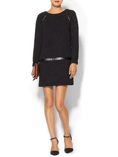 PIPERLIME COLLECTION Textured Sweater Dress