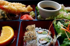 bento box...not good for me, but love it every once in a while...