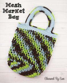 Free Crochet Pattern: Mesh Market Bag