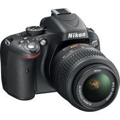 Have it! Love it! Nikon - D5100 16.2-Megapixel DSLR Camera with 18-55mm VR Lens - Black